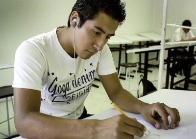 Alumno de Licenciatura en Comunicación Multimedia