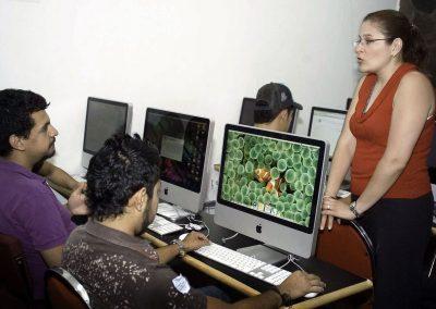Clase de Licenciatura en Comunicación Multimedia