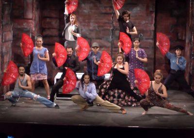 Grupo de actores de Licenciatura en Actuación