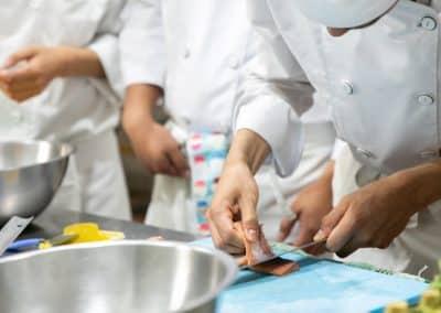 Preparación de Alimentos Licenciatura en Gastronomía