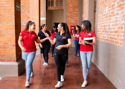 Alumnas en Plantel Licenciatura en Pedagogía