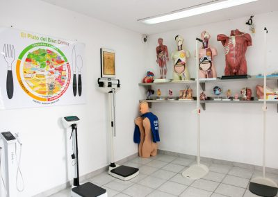 Sala de espera Licenciatura en Nutrición