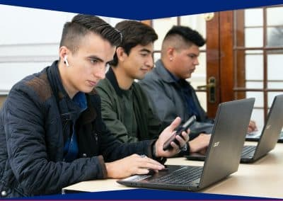 Alumnos de Licenciatura en Tecnologías de la Información