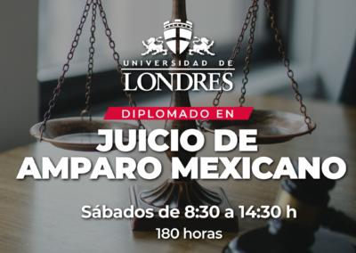 Diplomado Juicio de Amparo Mexicano