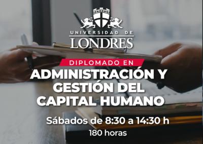Diplomado Administración y Gestión del Capital Humano