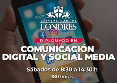 Diplomado Comunicación Digital y Social media